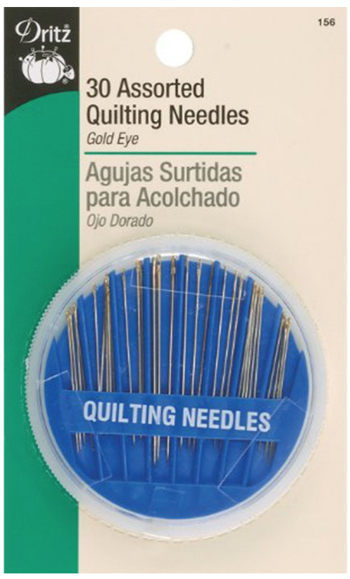 Assorted Quilting Needles, 30 Pieces